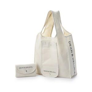 DEAN & DELUCA ショッピングバッグ ナチュラル 折りたたみバッグ  ディーン&デルーカ  ショッピングバッグ