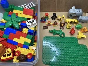 レゴデュプロ LEGO duplo レゴ デュプロ ジャンク品 中古 知育玩具