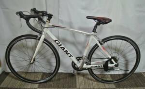 ★ 1円~【GIANT】 ※ ALUXX WINDMRRH 2700 軽快ロードバイク 16段 白色 中古 自転車 引き取り可能 (9152)