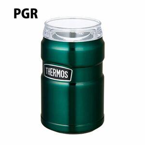 サーモス 保冷缶ホルダー ROD002 ステンレス グリーン