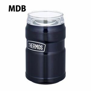 サーモス 保冷缶ホルダー ROD002 ステンレス ブラック