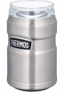 サーモス 保冷缶ホルダー ROD002 ステンレス シルバー