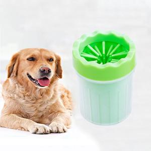 ペット 足洗 ペット Sサイズ 足洗い 足洗うブラシカップ 犬 お散歩後 小型犬 散歩 ペットグッズ 犬用品 お出かけ グリーン