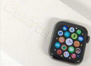θ ABランク/BT容量93% Apple Watch Series6 GPS+Cellular 40㎜ グラファイトステンレス/スポーツバンド M06X3J/A 箱/付属品 S28430327996