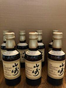 山崎12年ミニボトル50ml 7本セット