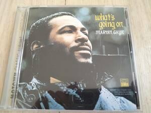 ソウル輸入盤 CD マーヴィン・ゲイ 大名盤 Whats going on Marvin Gaye ファッツゴーイングオン MOTOWN SOUL