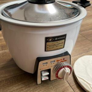 炊飯器 昭和レトロ 当時物 電気炊飯器 日立 HITACHI 未使用品 アンティーク 1.0L