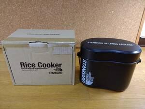 THE NORTH FACE STANDARD ノースフェイス スタンダード Rice Cooker 飯盒 飯ごう はんごう ライスクッカー 黒 限定 レア