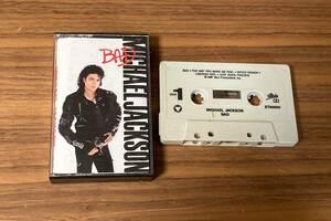 【送料無料/輸入盤】カセットテープ ★ MICHAEL JACKSON / BAD マイケル・ジャクソン