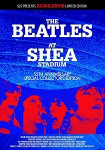 [2CD+2DVD] BEATLES / AT SHEA STADIUM : 55TH ANNIVERSARY SGT.presents 新品輸入プレス盤