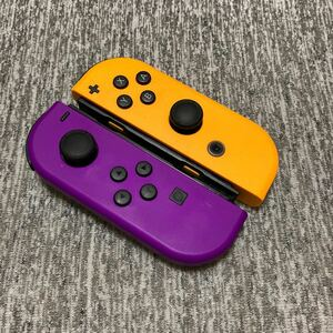 Nintendo Switch Joy-Con ネオンパープル ネオンオレンジ