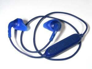 JVC Bluetooth ワイヤレスステレオヘッドホン「HA-EB7BT」ブルー
