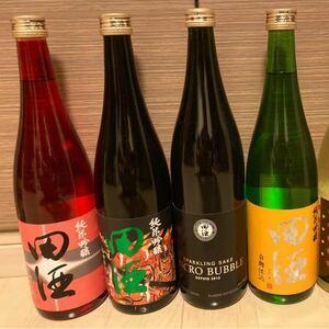 人気の田酒4号瓶4本セット