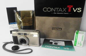 ■[銀塩] ★ CONTAX/ コンタックス TVS (化粧箱付)