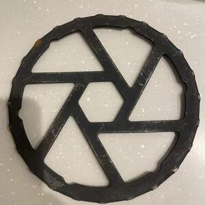 鉄製ミニ五徳 HB-5001 / 鉄製 ガス コンロ ミニ 五徳 小さい 小さな 鍋