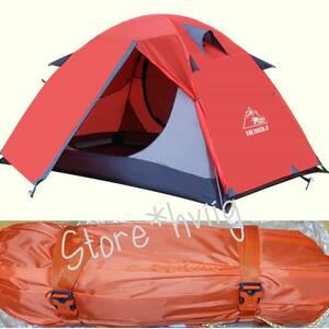 とても軽くてコンパクト! 2人用 テント 設営簡単 二重層 自立式 バイク ツーリング 持ち運びしやすい ソロ キャンプ