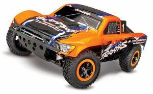 東京発即納送料無 TRAXXASトラクサス 1/10 スケール スラッシュ VXL 4X4 ショート コース トラック Slash 4X4 VXL (#68086-4) (Orange)