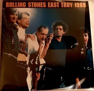 ライブ盤 2枚組 RollingStones EAST TROY 1989 LIVE