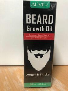 育毛剤 ALIVER BEARD growth oil 箱付き