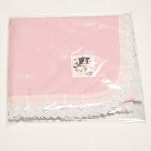 【新品】大人用 防水おむつ替えシート おねしょシーツにも ピンク パイル生地 レースあり