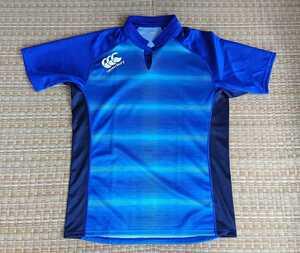 カンタベリー プラクティス シャツ ビッグサイズ RG39002B 5L ロイヤルブルー