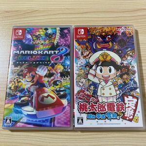 マリオカート8デラックス 桃太郎電鉄  Nintendo Switch ニンテンドースイッチソフト