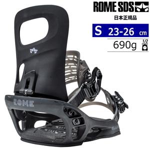 21-22 ROME SDS GLADE カラー:BLACK Sサイズ レディース スノーボード バインディング ビンディング ローム グレード 日本正規品