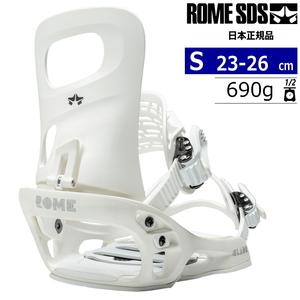 21-22 ROME SDS GLADE カラー:WHITE Sサイズ レディース スノーボード バインディング ビンディング ローム グレード 日本正規品