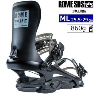 21-22 ROME SDS 390 BOSS カラー:BLACK MLサイズ メンズ スノーボード バインディング ビンディング ローム 390ボス 日本正規品