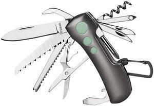 【新品 送料無料】マルチツール ナイフ 折り畳みナイフ NEDFOSS 13-IN-1多機能工具 ナイフ 耐久性のあるステンレス鋼ツール