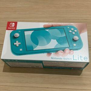 Nintendo Switch LITE ターコイス