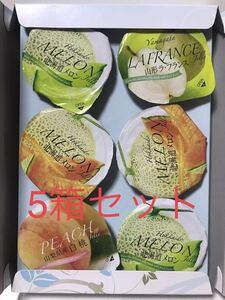 金澤兼六製菓 国産デリシャスゼリーギフト 6個入り×5箱セット金澤兼六製菓ゼリー 金沢
