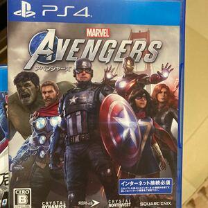 PS4 ソフト アベンジャーズ