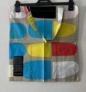 marimekko マリメッコ エコバッグ シルバーメダルトートバッグ
