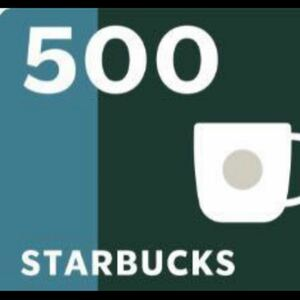 スターバックス 500×10