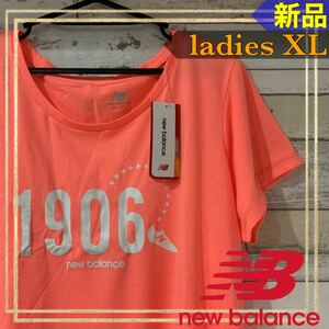 new balanceニューバランスグラフィック半袖TシャツレディースXL 新品
