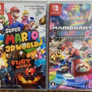マリオカート8デラックス マリオ3d WORLD ワールド Nintendo Switch ソフト