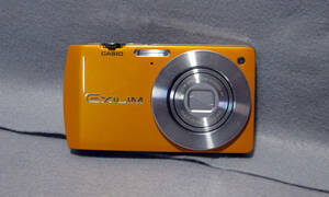 P088 CASIO EXILIM EX-S200 (オレンジ) デジタルカメラ