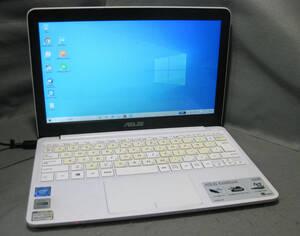 #827 ASUS EeeBook X205TA(ホワイト) Intel Atom Z3735F 1.33GHz win10 WPS office2016
