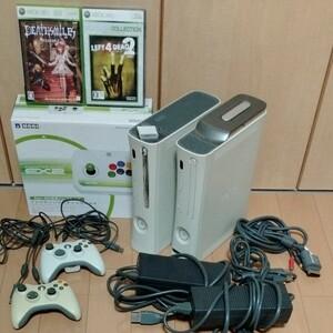 Xbox360 本体 ソフト ファイティングスティック セット