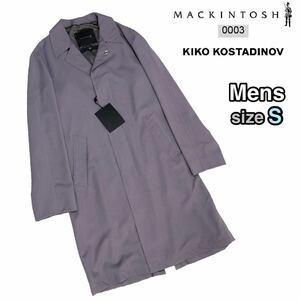 18AW 未使用 MACKINTOSH 0003 KIKO KOSTADINOV Wool Tailored Coat [Lavender/S] ステンカラーコート マッキントッシュ キココスタディノフ