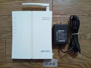 無線WiFiルーターWHR-HP-GNJunk1091802