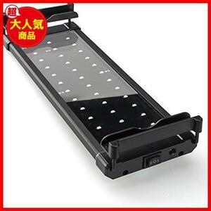 新品Lightess アクアリウムライト led 水槽 ライト 水槽用 照明 2つ照明モード 30-50CM水槽対応BT8G