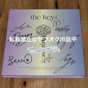公園少女(GWSN)◎韓国発売ミニアルバム「the Keys」非売品CD◎直筆サイン