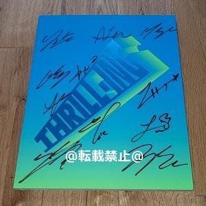 THE BOYZ◎韓国6thミニアルバム「THRILL-ING」Kick ver.CD◎直筆サイン