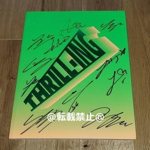 THE BOYZ◎韓国6thミニアルバム「THRILL-ING」Splash ver.CD◎直筆サイン