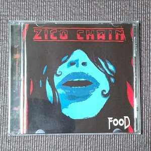 ZICO CHAIN - food 国内盤 帯なし ジーコ・チェイン フード UK オルタナ&グランジサウンド 送料無料 即決 迅速発送