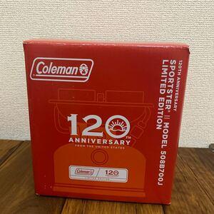 新品 コールマン (Coleman) ストーブ 120thアニバーサリー スポーツスターII レッド
