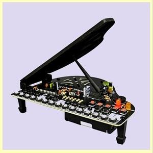 ☆★この時期限定★☆新品☆未使用★ ミニ エレキット 0-SL グランドピアノ AW-865