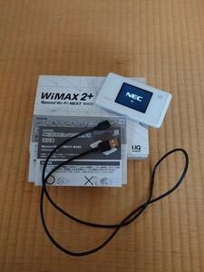 モバイルルーター UQ WiMAX ポケットWiFi